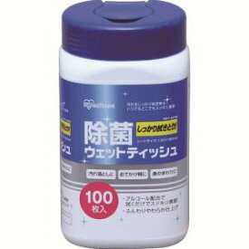 【アイリスオーヤマ】アイリスオーヤマ RWT-AB100 除菌ウェットティッシュ アルコール 524079
