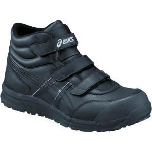 【アシックス asics】アシックス CP302 ウィンジョブ ブラック×ブラック 26.5cm FCP302.9090-26.5
