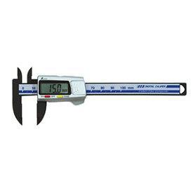 【シンワ測定 SHINWA】シンワ測定 SHINWA デジタルノギス カーボンファイバー製 100mm 19978