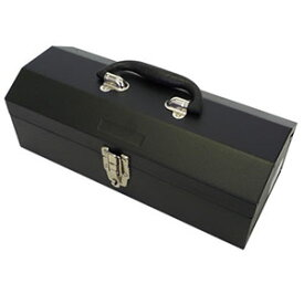 【アークランドサカモト】アークランド TBH109 黒 山型スチール工具箱 360mm
