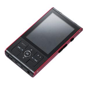 【グリーンハウス GreenHouse】デジタルオーディオプレーヤー GH-KANART8-RD(レッド) GHKANART8RD 8GBメモリ 1台5役