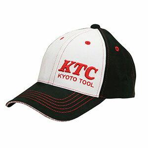【KTC 京都機械工具】KTCオリジナルキャップ ブラック×ホワイト YG-34W
