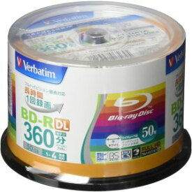 【三菱 Verbatim】VBR260YP50V1 BD-R BDR DL 50GB 4倍速50枚