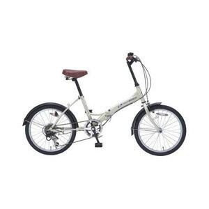 送料無料!!【マイパラス MYPALLAS】折畳自転車 20 6SP M-209 IV アイボリー 【メーカー直送 代引き不可】【smtb-u】