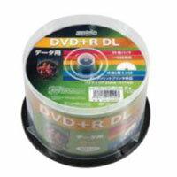 【ハイディスク HI DISC】HDD+R85HP50 DVD+R DL 8.5GB 8倍速50枚