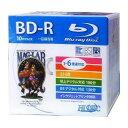 【ハイディスク HI DISC】HDBD-R6X10SC BD-R BDR 25GB 6倍速10枚