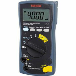 【三和電気計器 サンワ SANWA】デジタルマルチメータ DC/AC600Vまで CD770