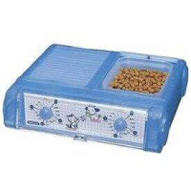 【山佐時計計器 ヤマサ YAMASA】わんにゃんぐるめ クリアブルー ペット自動給餌 CD-400-CBL