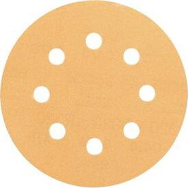 【ボッシュ BOSCH】ボッシュ BOSCH サンディングペーパー 125mm ゴールド #100 50枚入 2608607827