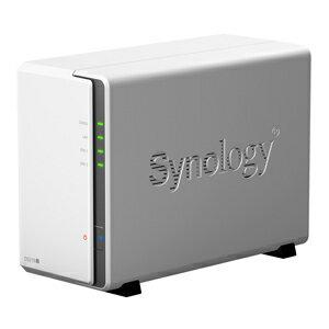 送料無料!!【シノロジー(Synology)】DiskStation マルチメディア対応NAS DS216j【smtb-u】
