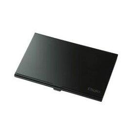 【ナカバヤシ Nakabayashi】ナカバヤシ Digio2 microSDカードケース(丈夫なアルミ素材) ブラック MCC-802BK