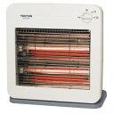 【テクノス(TEKNOS)】電気ストーブ 薄型デザイン 温度2段階切替式 800W ES-K710(W)