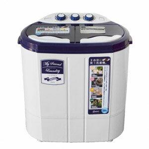 送料無料!!【シービージャパン CB】マイセカンドランドリー TOM-05 2槽式小型洗濯機【smtb-u】