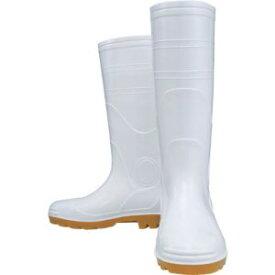 【おたふく手袋 OTAFUKU】安全耐油長靴 白 24.0cm JW-709 JW709