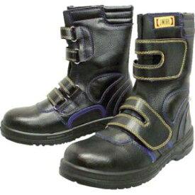 【おたふく手袋 OTAFUKU】おたふく手袋 安全シューズ静電半長靴マジックタイプ 27.5cm JW-773 安全靴