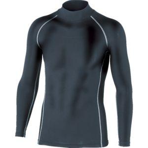 【おたふく手袋 OTAFUKU】BTパワーストレッチハイネックシャツ ブラック Mサイズ JW-170
