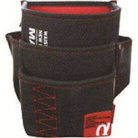 【マーベル MARVEL】マーベル WAIST GEAR 電工ポケット腰袋(3段) グリーン MDP-93AG