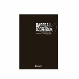 【プロマーク Promark】野球スコアブック A4サイズ 40試合分 SC-100