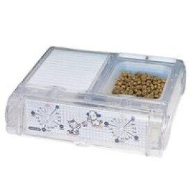 【山佐時計計器 ヤマサ YAMASA】わんにゃんぐるめ クリアー ペット自動給餌 CD-400-C