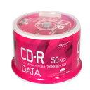 【HI DISC ハイディスク】【楽天市場】ショップ・オブ・ザ・イヤー2016受賞特価 VVDCR80GP50 CD-R CDR 700MB データ用 50枚