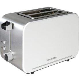 【アイリスオーヤマ IRIS】ポップアップトースター IPT-850-W ホワイト トースター