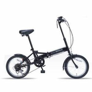 送料無料!!【マイパラス MYPALLAS】折畳自転車 ブラック M-102 【メーカー直送 代引き不可】【smtb-u】