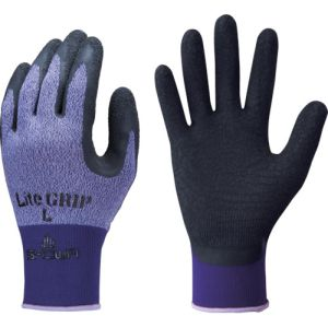 【ショーワグローブ SHOWA】ライトグリップ Mサイズ パープル No.341-MPL 背抜き手袋 軍手