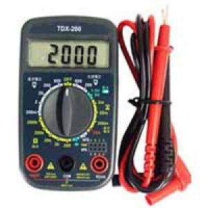 【オーム電機 OHM】オーム電機 TDX-200 デジタルマルチテスター 04-1855