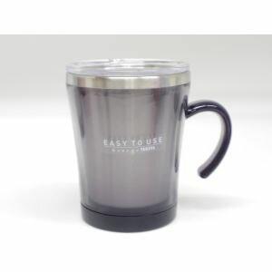 【タケヤ化学工業】マグカップ フタ付 サードウェーブ マグ 320ml ブラック ( 保温 マグカップ )