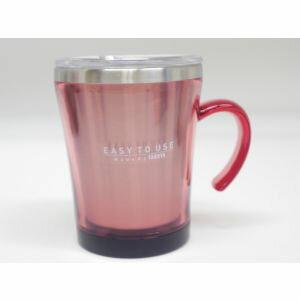 【タケヤ化学工業】マグカップ フタ付 サードウェーブ マグ 320ml ピンク ( 保温 マグカップ )