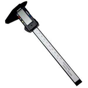 【パイナップル】カーボン製デジタルノギス 0-150mm 最小読取値0.01mm