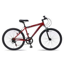 送料無料!!【マイパラス MYPALLAS】MTB26 6SP Fサス レッド 自転車 マウンテンバイク M-620 RD 【メーカー直送 代引き不可】【smtb-u】