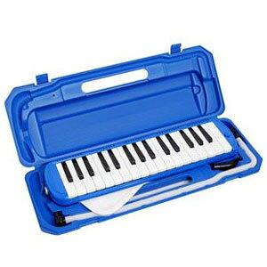 【KC】鍵盤ハーモニカ ブルー P3001-32K/BL