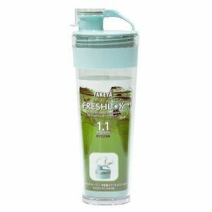 【タケヤ化学工業】麦茶ポット 耐熱 フレッシュロック ピッチャー 1.1L ミント ( 冷水筒 水差し タケヤ )