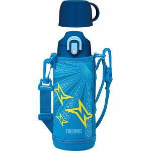 【サーモス】水筒 直飲み&コップ付 真空断熱2WAYボトル ブルーイエロー(BLY) FHO-800WF
