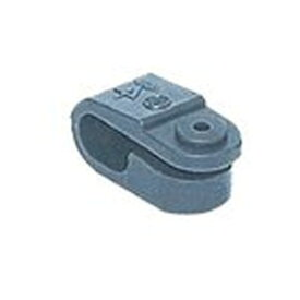 【未来工業 ミライ】未来工業 ミライ VV-F片サドル(プラスチック製)スクリュー釘付 100個入 KT-S KT-S100