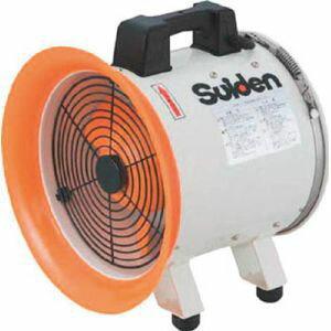 【スイデン Suiden】送風機(軸流ファンブロワ)ハネ250mm 単相100V SJF-250RS-1