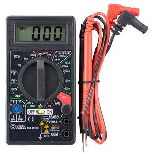 【オーム電機 OHM】オーム電機 TST-D10B マルチデジタルテスター 04-8034