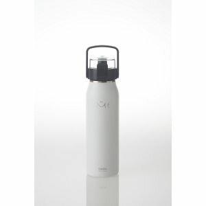【タケヤ化学工業】ステンレスボトル ハンドル&ショルダーベルト付 ME 1000ml ホワイト TK506307