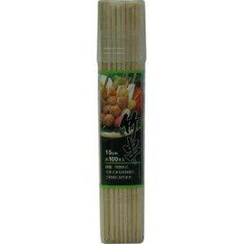 【シンワ】エコクック竹串15cm