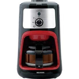 【アイリスオーヤマ IRIS】アイリスオーヤマ IAC-A600 全自動コーヒーメーカー 1〜4杯用 ブラック