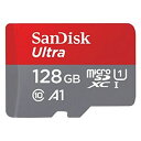 【メール便 送料250円 対応商品】【サンディスク(SanDisk) 海外パッケージ】【microSDXC 128GB】SDSQUAR-128G-GN6MA【…