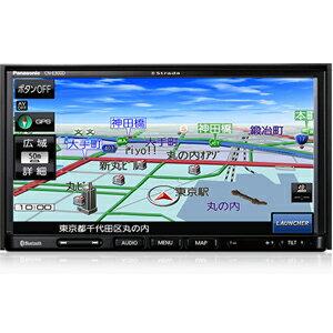 【パナソニック(Panasonic)】7V型ワイド SSDナビ Strada CN-E300D