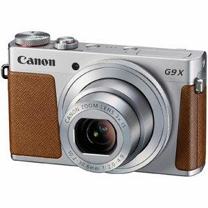 送料無料!!【キヤノン Canon】コンパクトデジタルカメラ PowerShot G9 X Mark II シルバー【smtb-u】