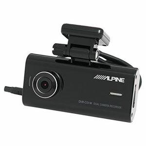送料無料!!【アルパイン(ALPINE)】2WAYカメラ付ドライブレコーダー DVR-C01W【smtb-u】
