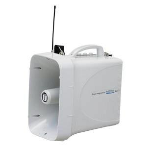 【ユニペックス】防滴スーパーワイヤレスメガホン TWB-300