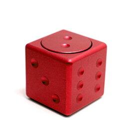 afa9a6a0bfa 【パイナップル】指スピナー ダイス型 レッド fidget toy イライラ防止に