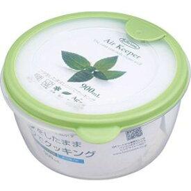 【岩崎工業 IWASAKI】岩崎工業 保存容器 エアキーパー どんぶり グリーン A-038 SG