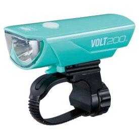 【キャットアイ CATEYE】自転車ライト LED 200lm VOLT200 HL-EL151RC チェレステ