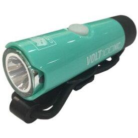 【キャットアイ CATEYE】サイクルライト ボルト100XC VOLT100XC 100lm USB充電式 100lm チェレステ HL-EL051RC